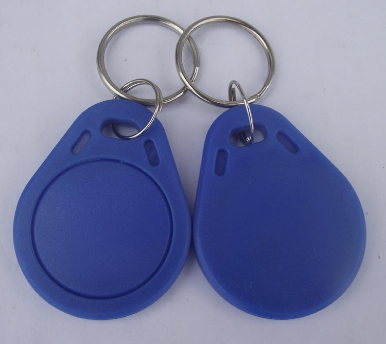 Високочестотен безконтактен чип  13,56 MHz Mifare 1K за врати,асансьори цвят син.