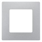 Декоративна рамка единична, цвят алуминий