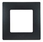 Декоративна рамка единична, цвят черен