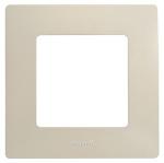 Декоративна рамка единична, цвят крем