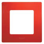Декоративна рамка единична, цвят червен