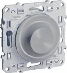 Димер, ротативен шнайдер серия Odace, механизъм, 9 - 100VA, алуминий