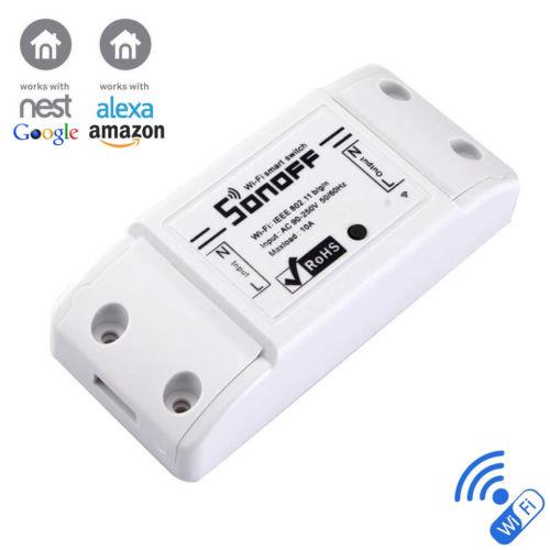 Sonoff, безжично реле с управление през интернет и чрез дистанционно