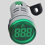 Амперметър цифров  зелен,  AC Current Meter 0-100A
