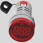 Амперметър цифров  червен,  AC Current Meter 0-100A