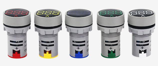 Волтметър цифров зелен,  DC Voltmeter DC5-60V