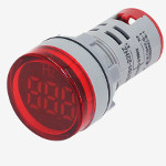 Честотомер червен,  AC Frequency Meter 0-99HZ