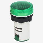 Волтметър-амперметър комбиниран зелен,   AC Double Display Current Voltmeter