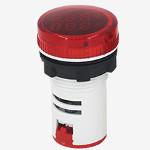 Волтметър-амперметър комбиниран червен,   AC Double Display Current Voltmeter