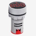 Волтметър цифров червен,  AC Voltmeter AC24-500V