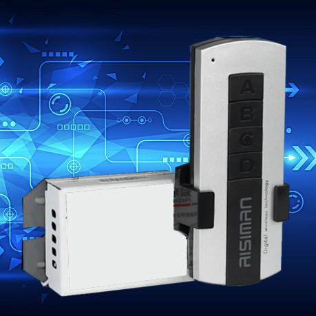 Kлюч за осветление с дистанционно - безжичен ключ еднополюсен