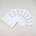 Рфид карти,  rfid карти за достъп, асансьори на 125 кHz. Пакет от 10бр.