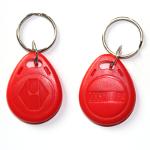 Електронни ключове / чипове Rfid 125 Khz за врати, цвят червени.