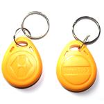 Електронни ключове / чипове Rfid 125 Khz за врати, цвят жълти.