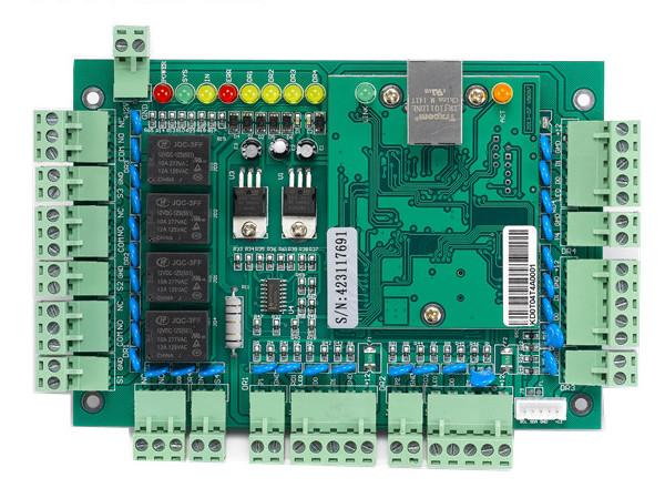 Мрежов контролер за контролиране достъпа до четири врати