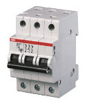 Aвтоматичен предпазител ABB SH203-C63 63А 3P