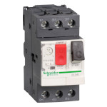 Моторна трифазна защита 400V AC до  0,03kW настройка 0,1-0,16A
