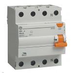 Дефектнотокова защита General Electric  25A 30mA 6kA 4P